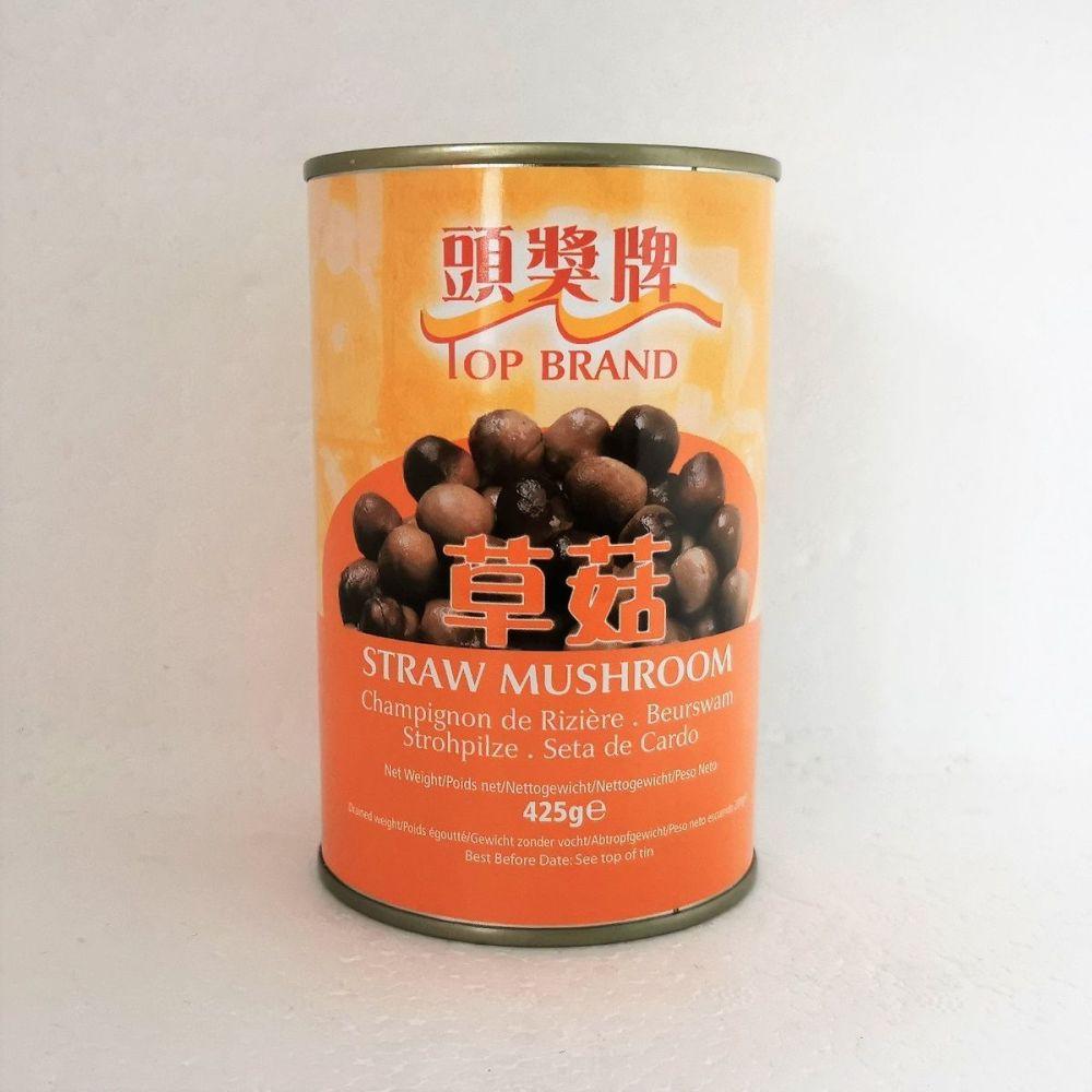 Top Brand Straw Mushrooms 425g