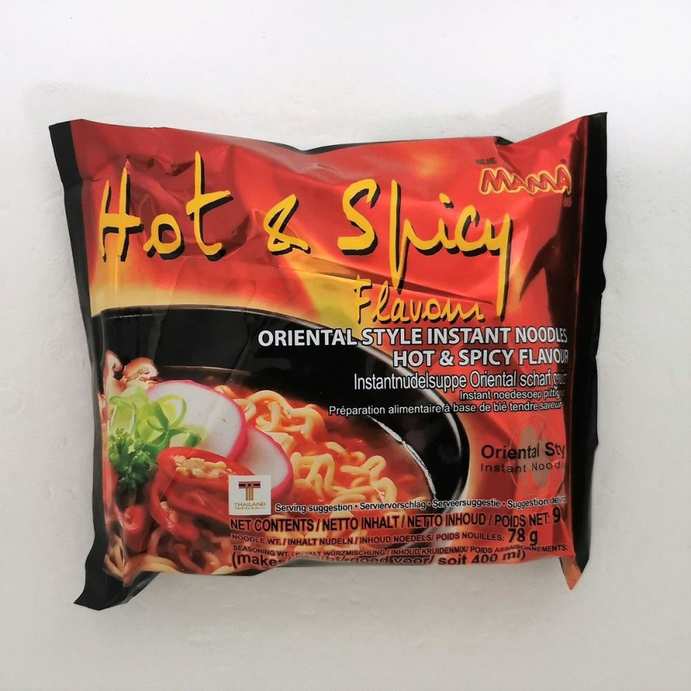 Mama Jumbo Hot & Spicy Flavour 90g