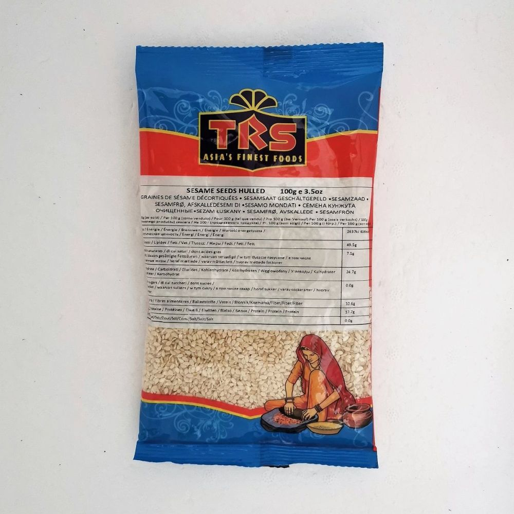 Sesame Seeds Hulled 100g