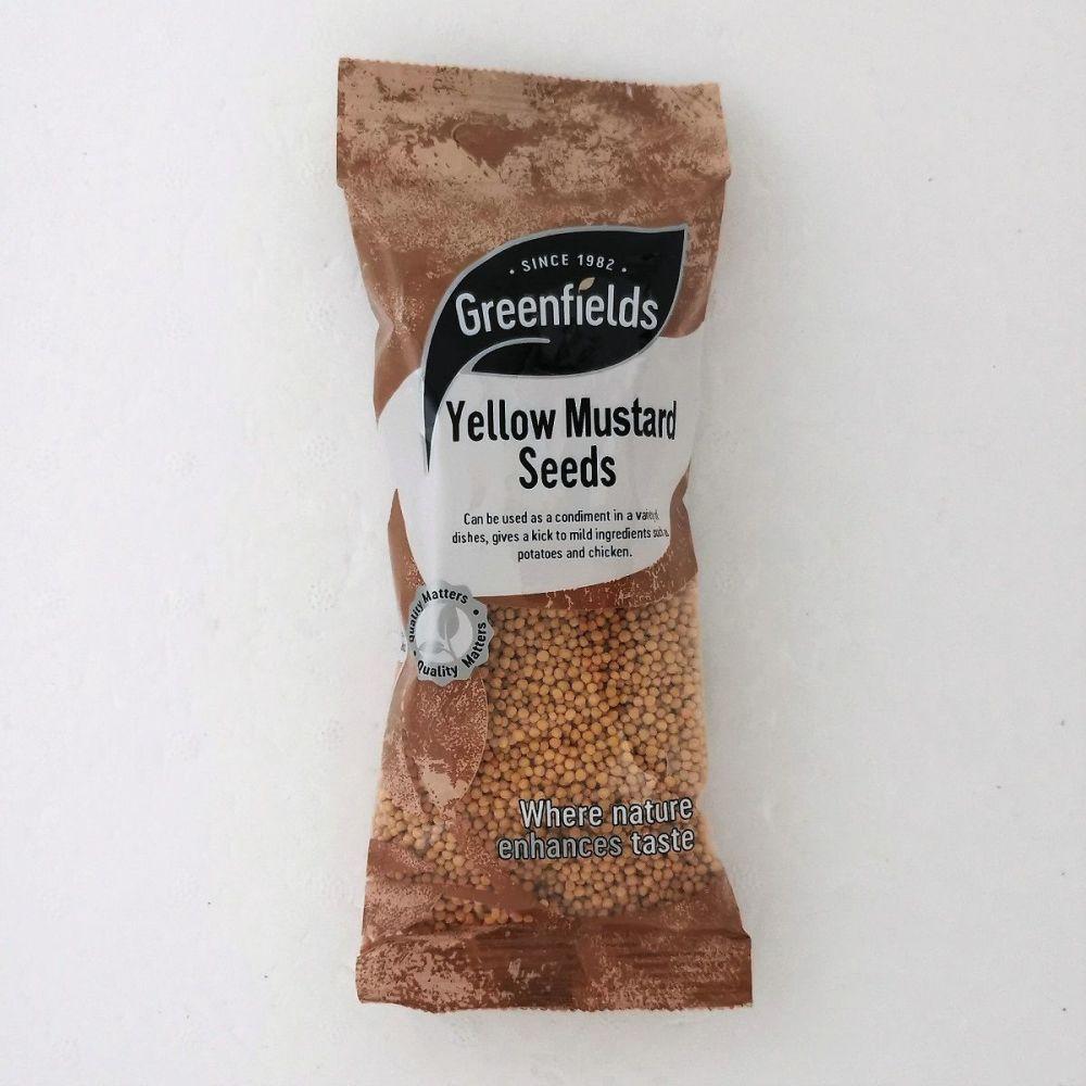 Yellow Mustard Seeds 100g