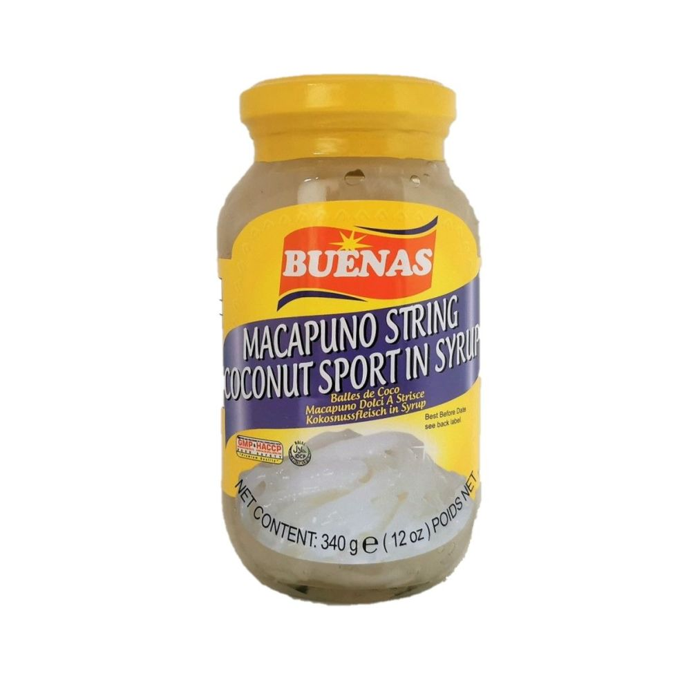 Buenas Macapuno String Coconut Sport in Syrup 340g