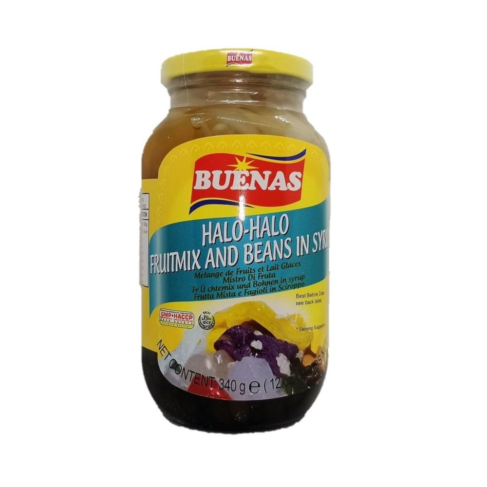 Buenas Halo-Halo Fruitmix and Beans in Syrup 340g