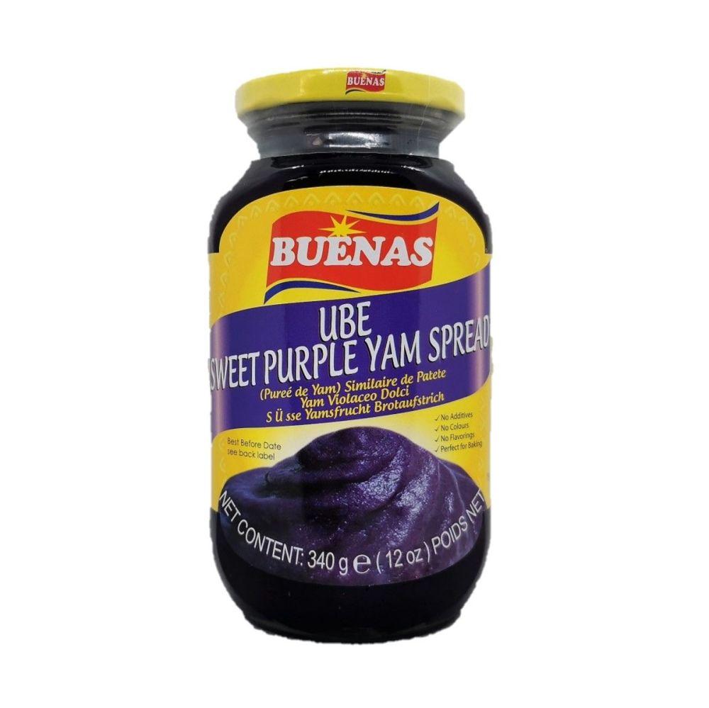 Buenas UBE Sweet Purple Yam Spread 340g