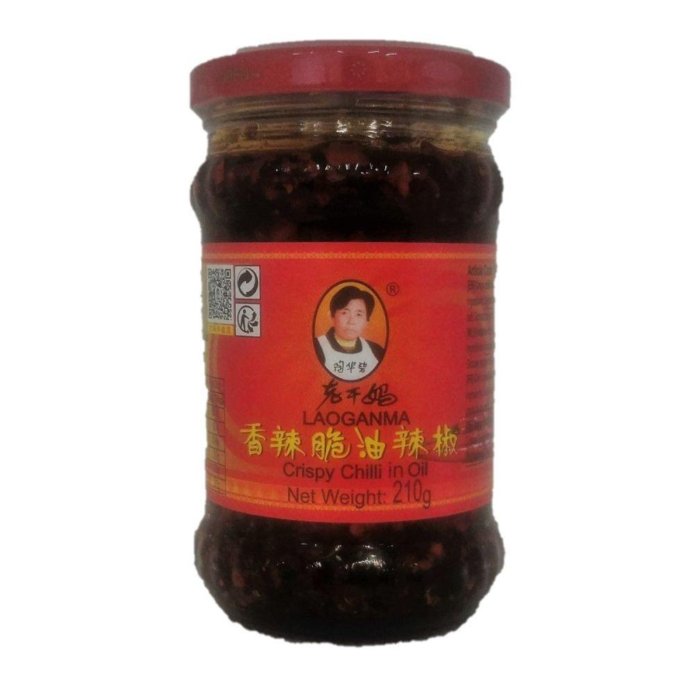 Laoganma Crispy Chilli In Oil 210g