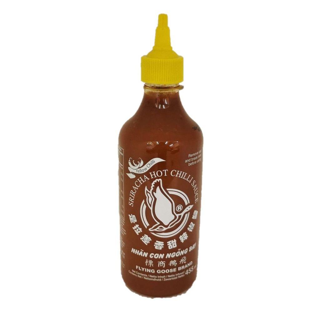 FGB Sriracha Hot Yellow Chilli Sauce 455ml