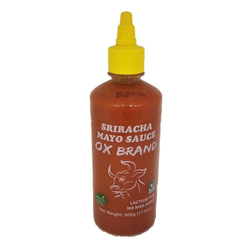 OX Brand Sriracha Mayo Sauce 500g