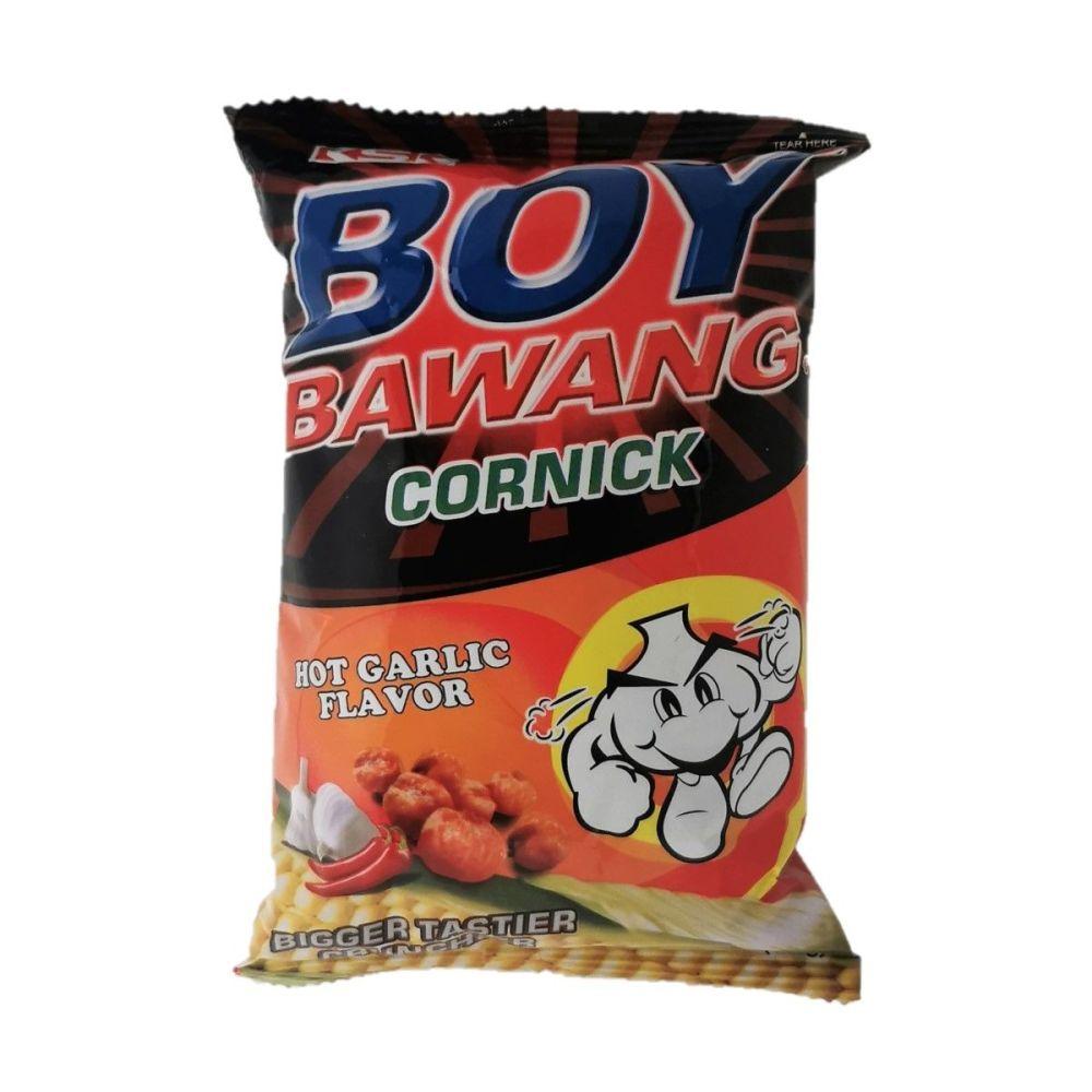 Boy Bawang Cornick Hot Garlic Flavour 100g