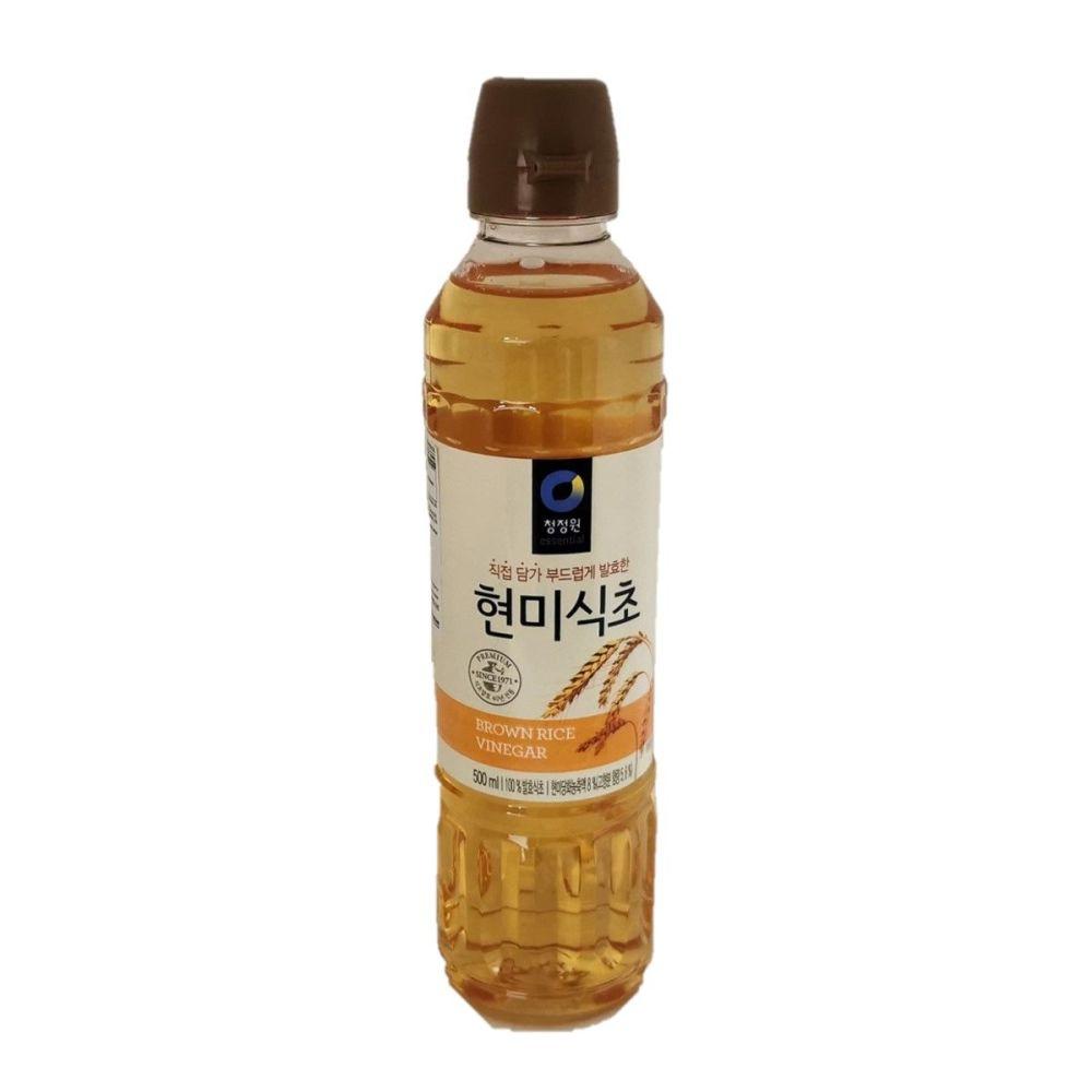 Essential Brown Rice Vinegar 500ml