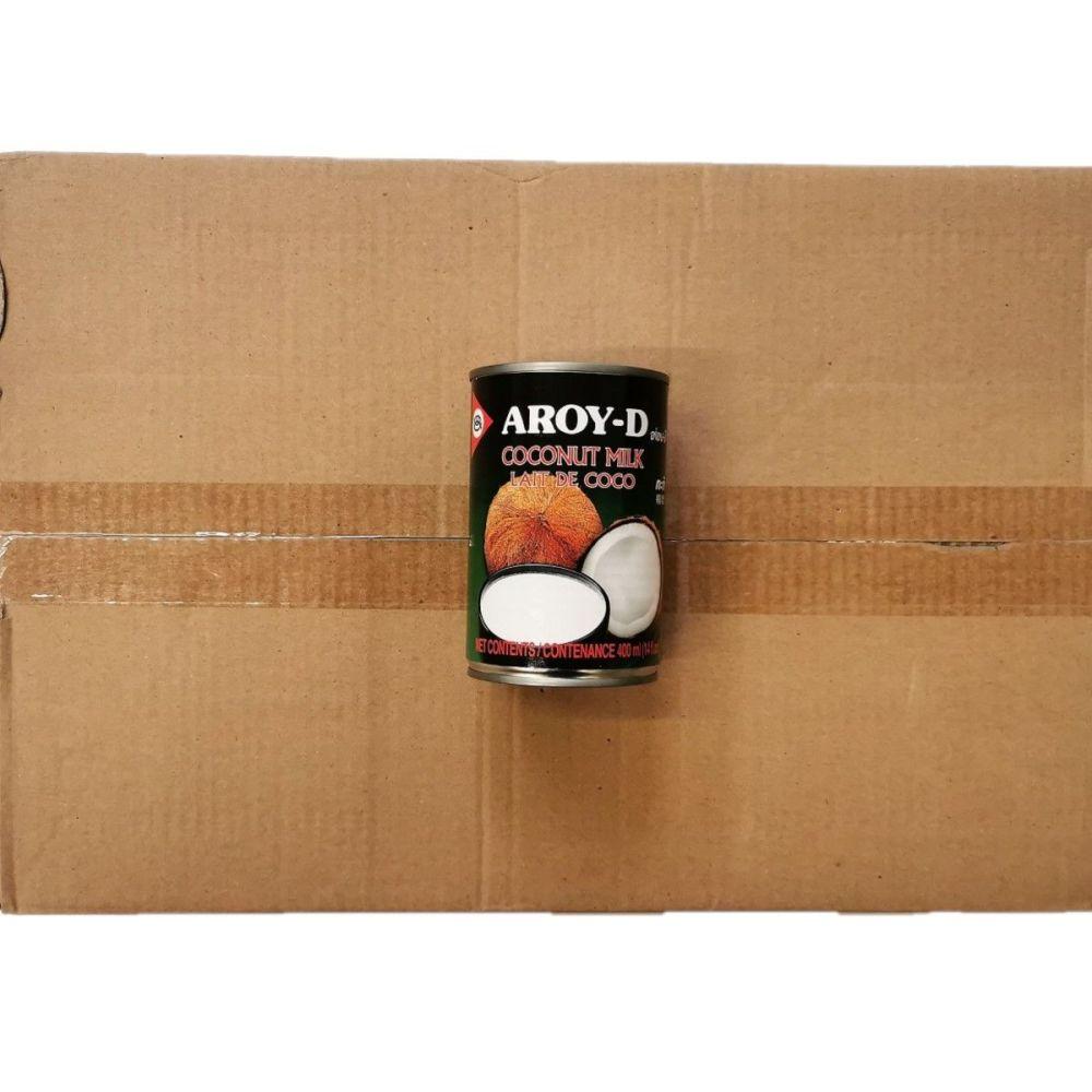 Aroy-D Coconut Milk 24x400ml