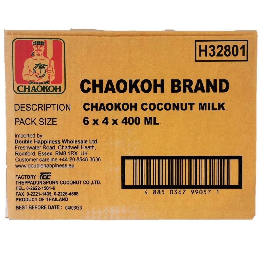 Chaokoh Coconut Milk 24x400ml