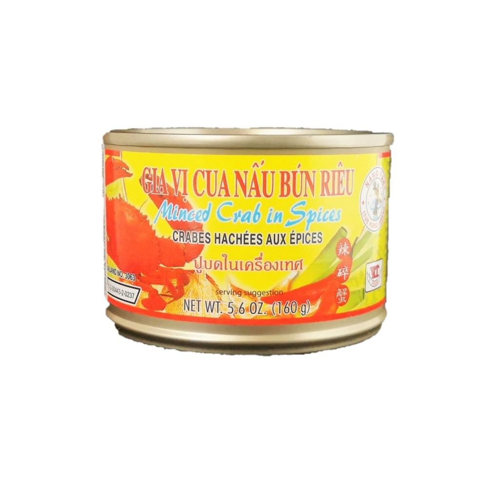 Minced Crab Meat in Soybean Oil and Spices 160g