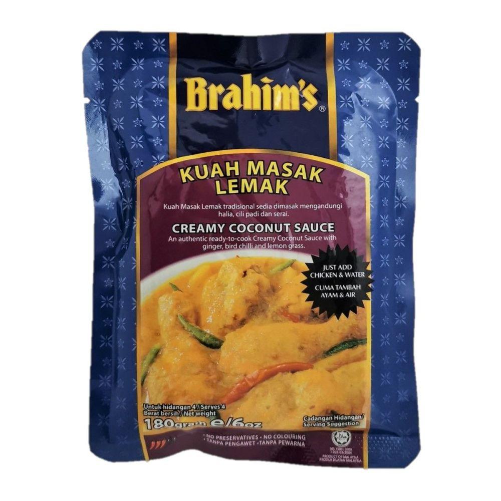 Brahim's Creamy Coconut Sauce 180g