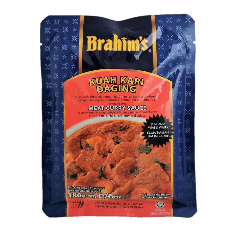 Brahim's Meat Curry Sauce 180g