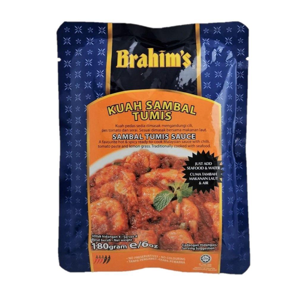 Brahim's Sambal Tumis Sauce 180g