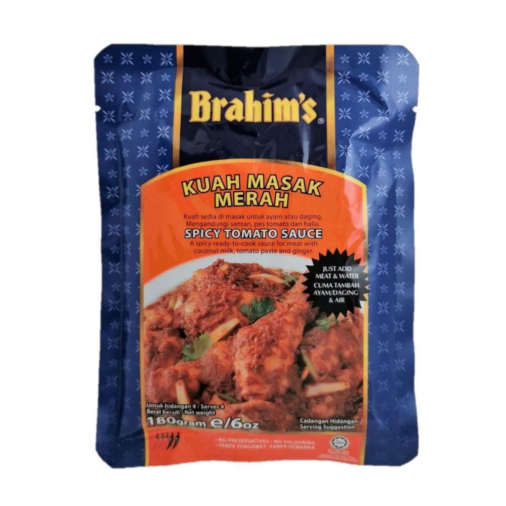 Brahim's Spicy Tomato Sauce 180g