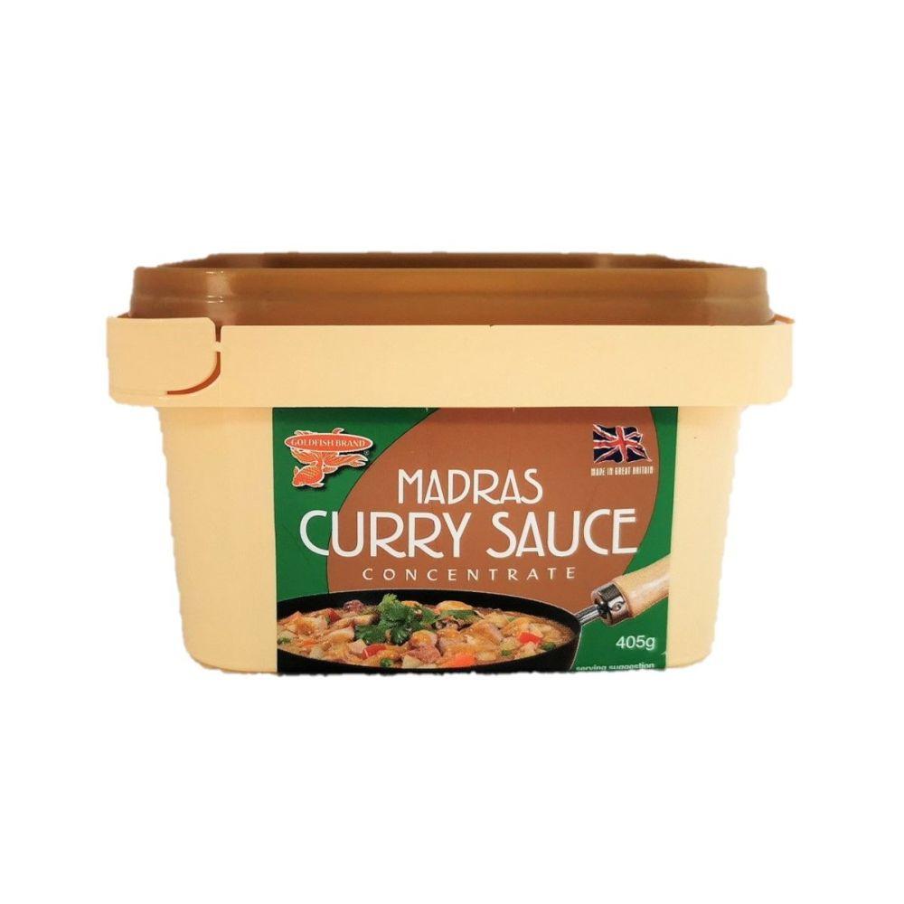 Goldfish Brand Madras Curry Paste 400g