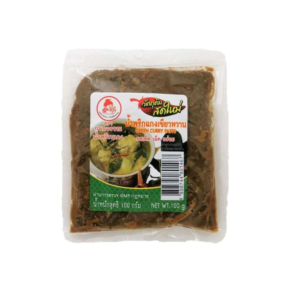 Kanokwan Green Curry Paste 100g