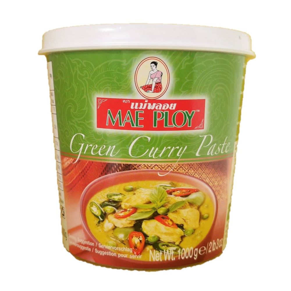 Mae Ploy Green Curry Paste 1000g