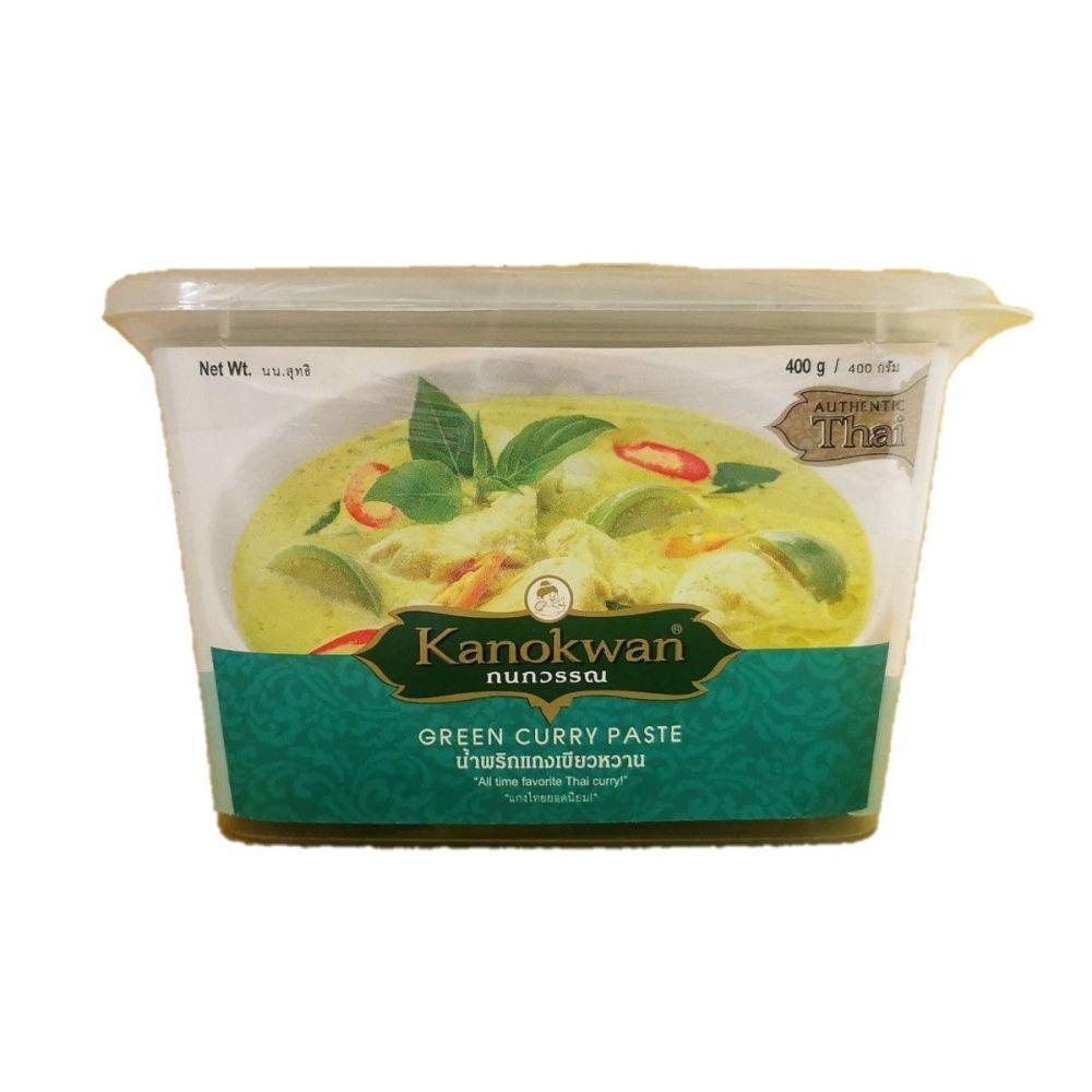 Kanokwan Green Curry Paste 400g