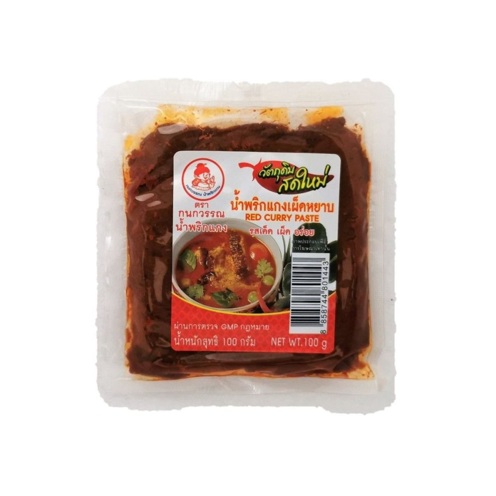 Kanokwan Red Curry Paste 100g
