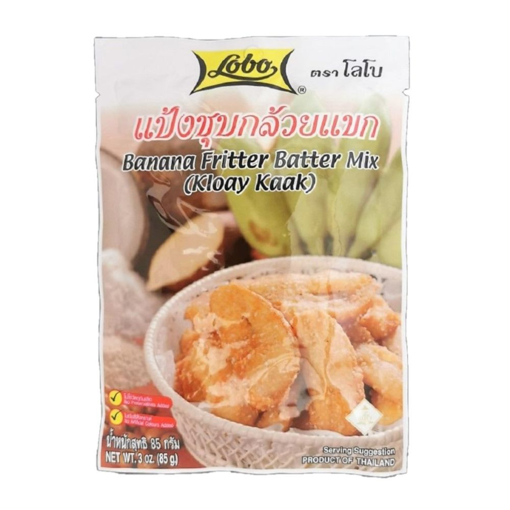 Banana Fritter Batter Mix (Kloay Kaak) 85g