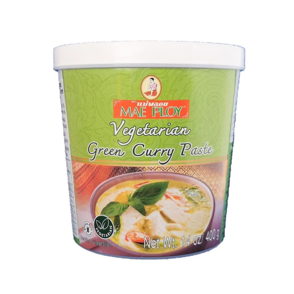 Mae Ploy Vegetarian Green Curry Paste 400g