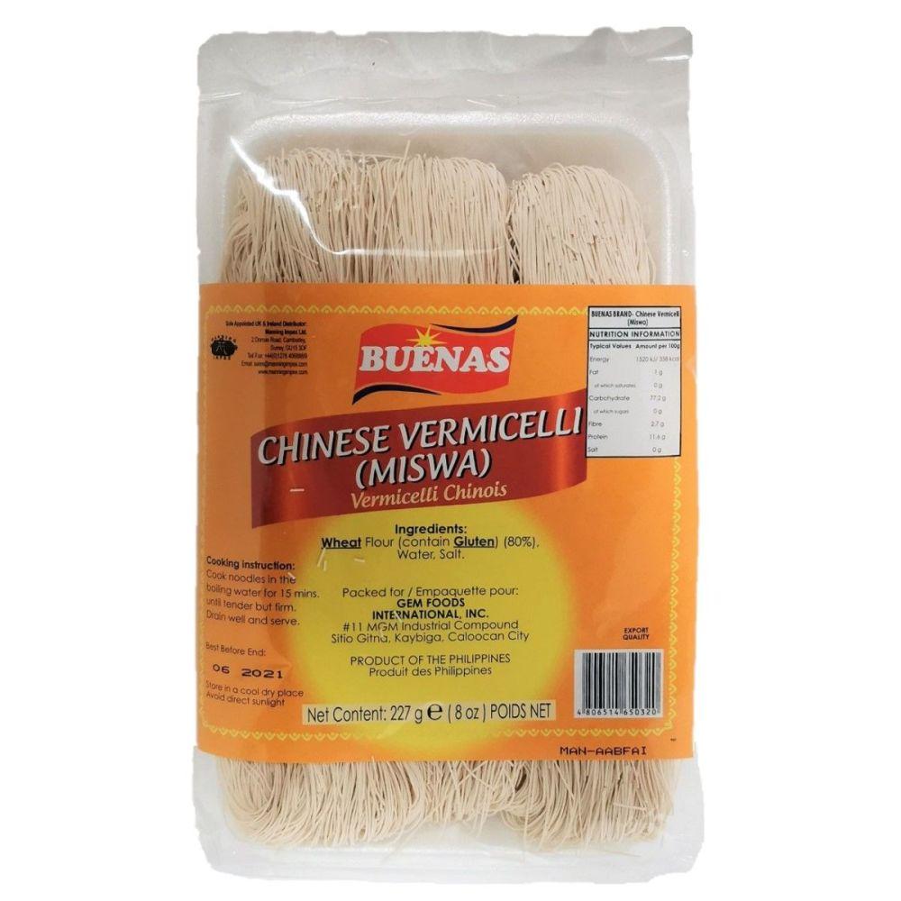 Buenas Chinese Vermicelli (Miswa) 227g