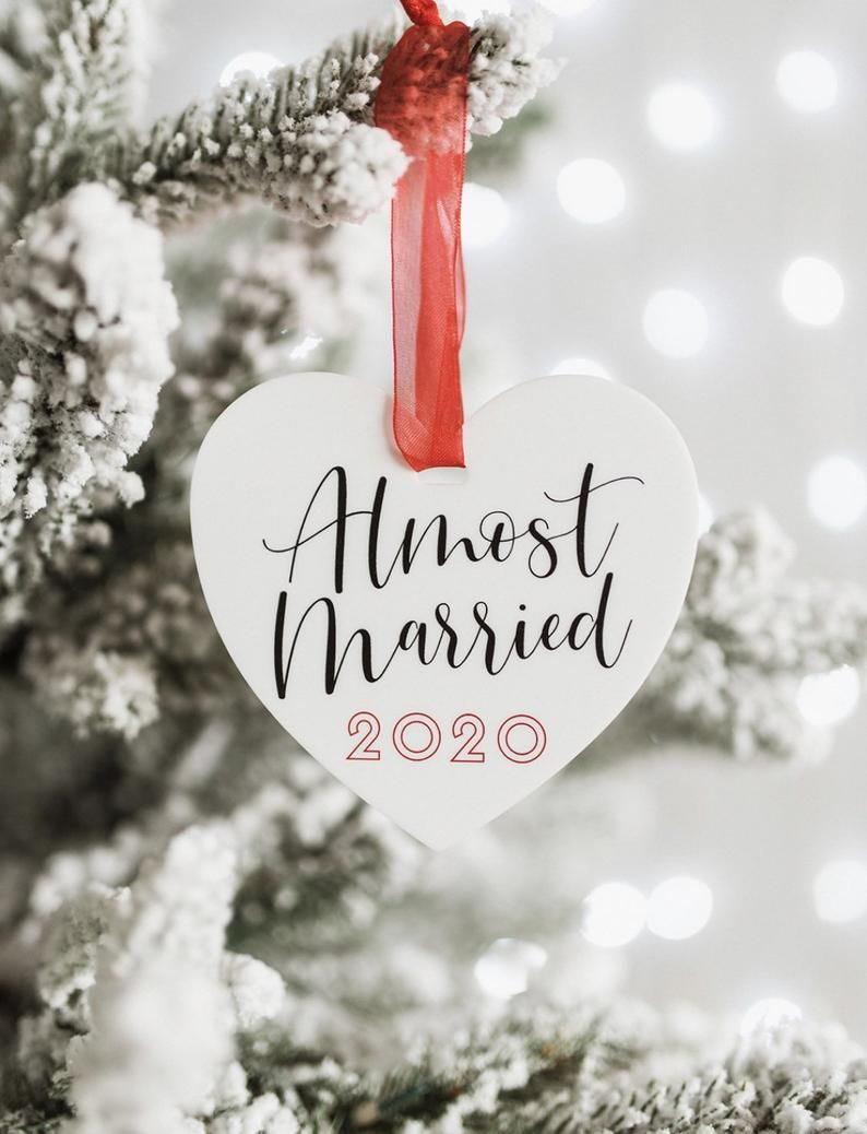 almost married bauble 2020