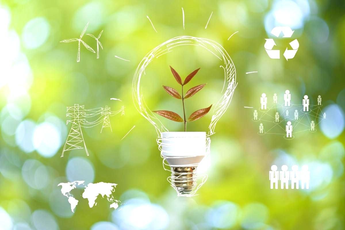 Renewable Energy Lightbulb