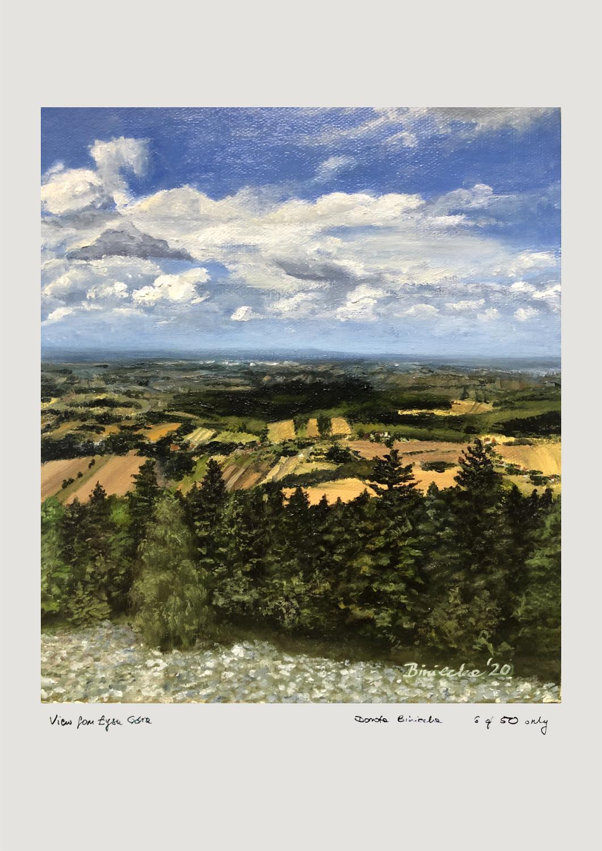 A2 View from Łysa Góra Giclée Print