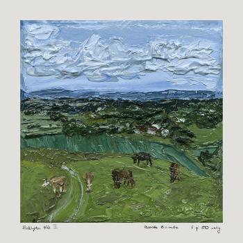 "10"" Sullington Hills III Giclée Print"