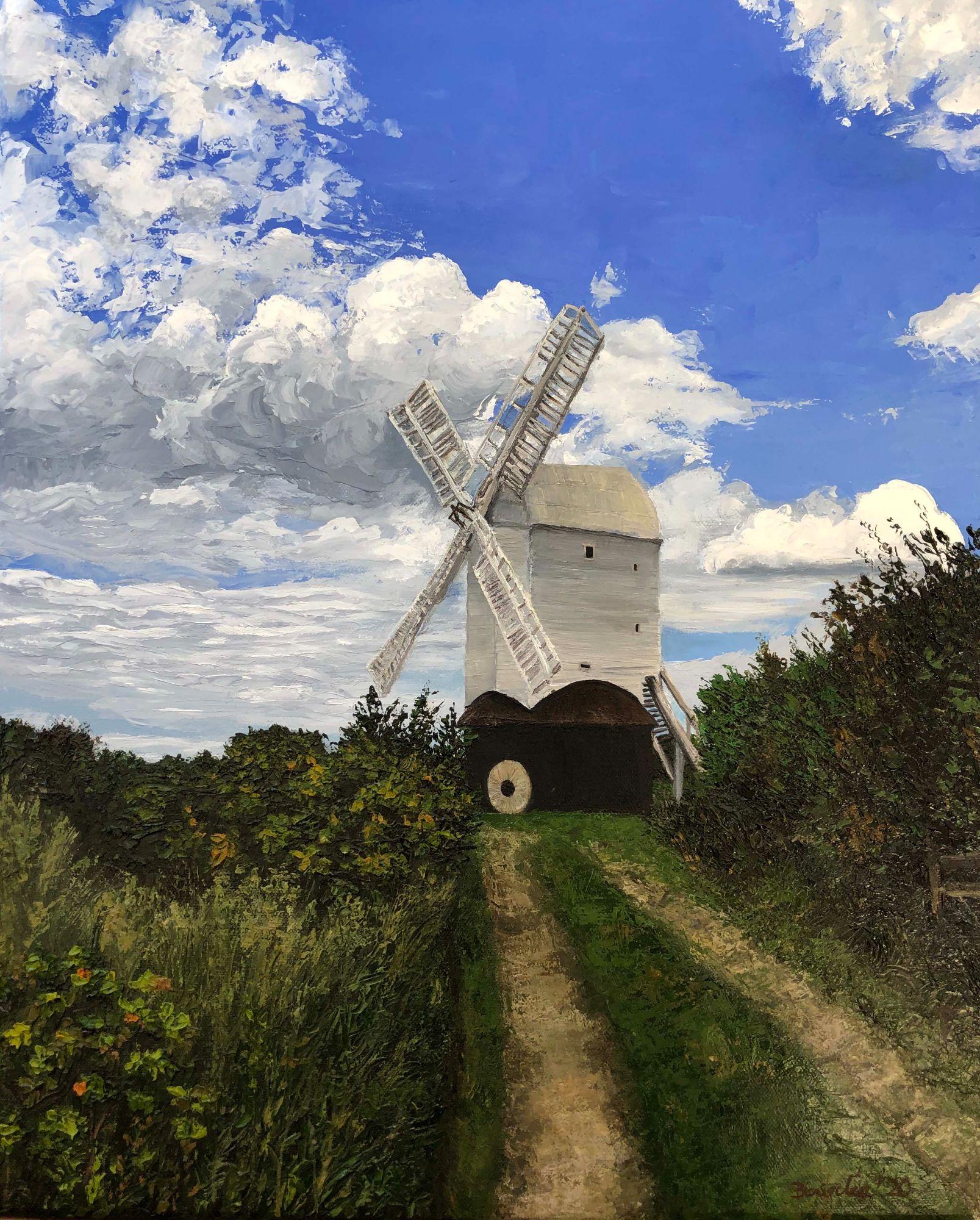 Jill Windmill oil painting