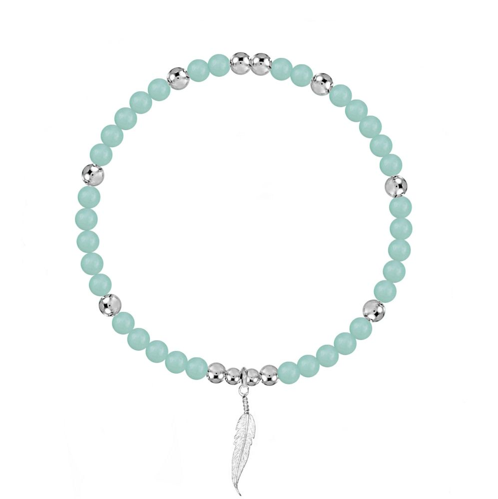 Angel Protection Stretch Amazonite Bracelet