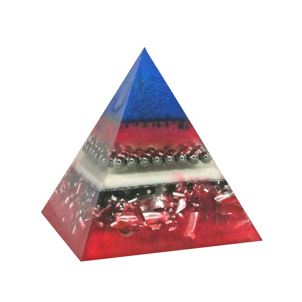 Orgonite Heart Protection  Pyramid