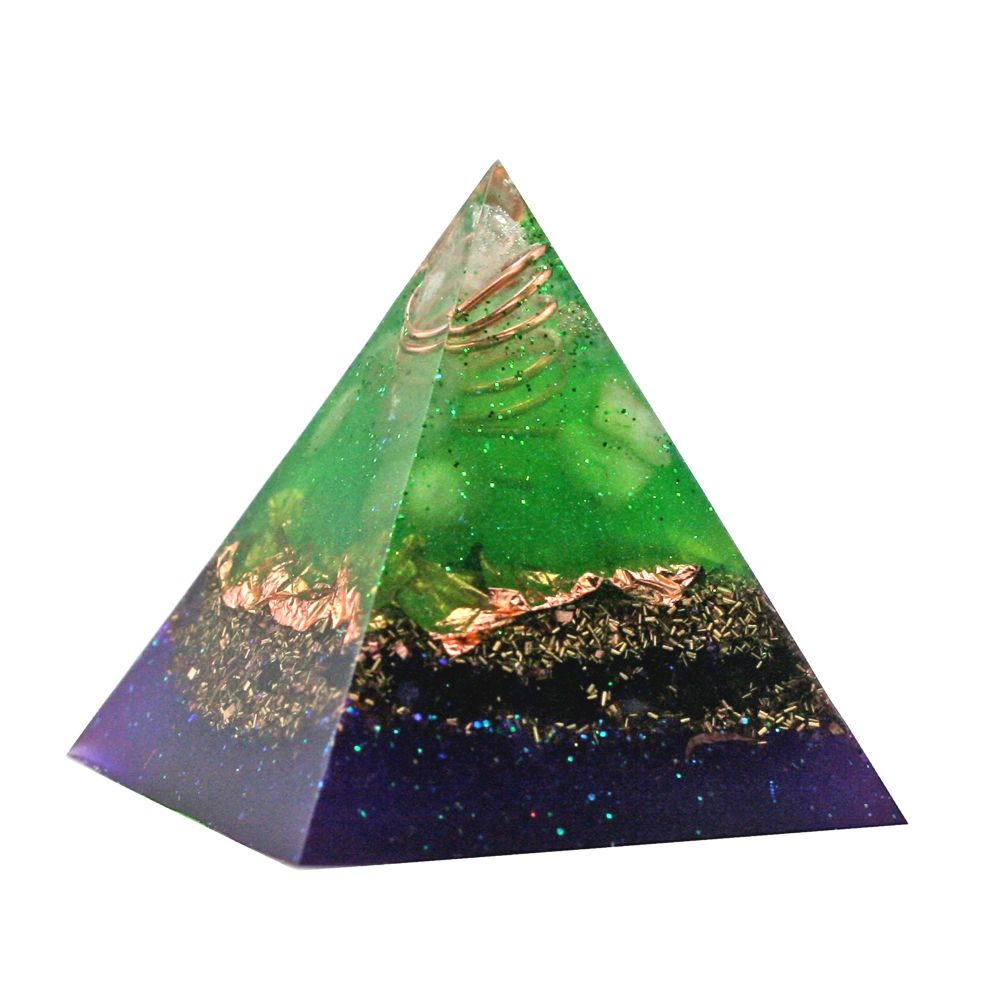 Orgonite Wellbeing Pyramid