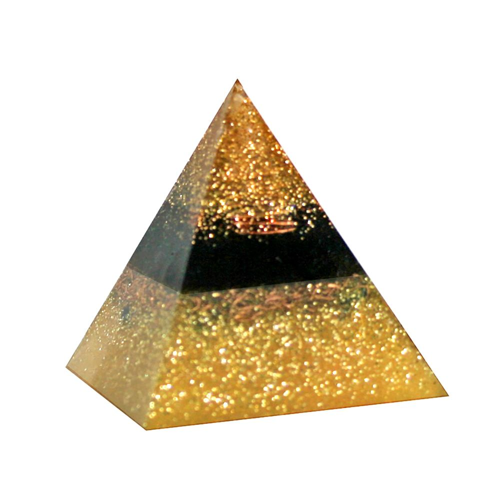 Orgonite Golden Temple Pyramid