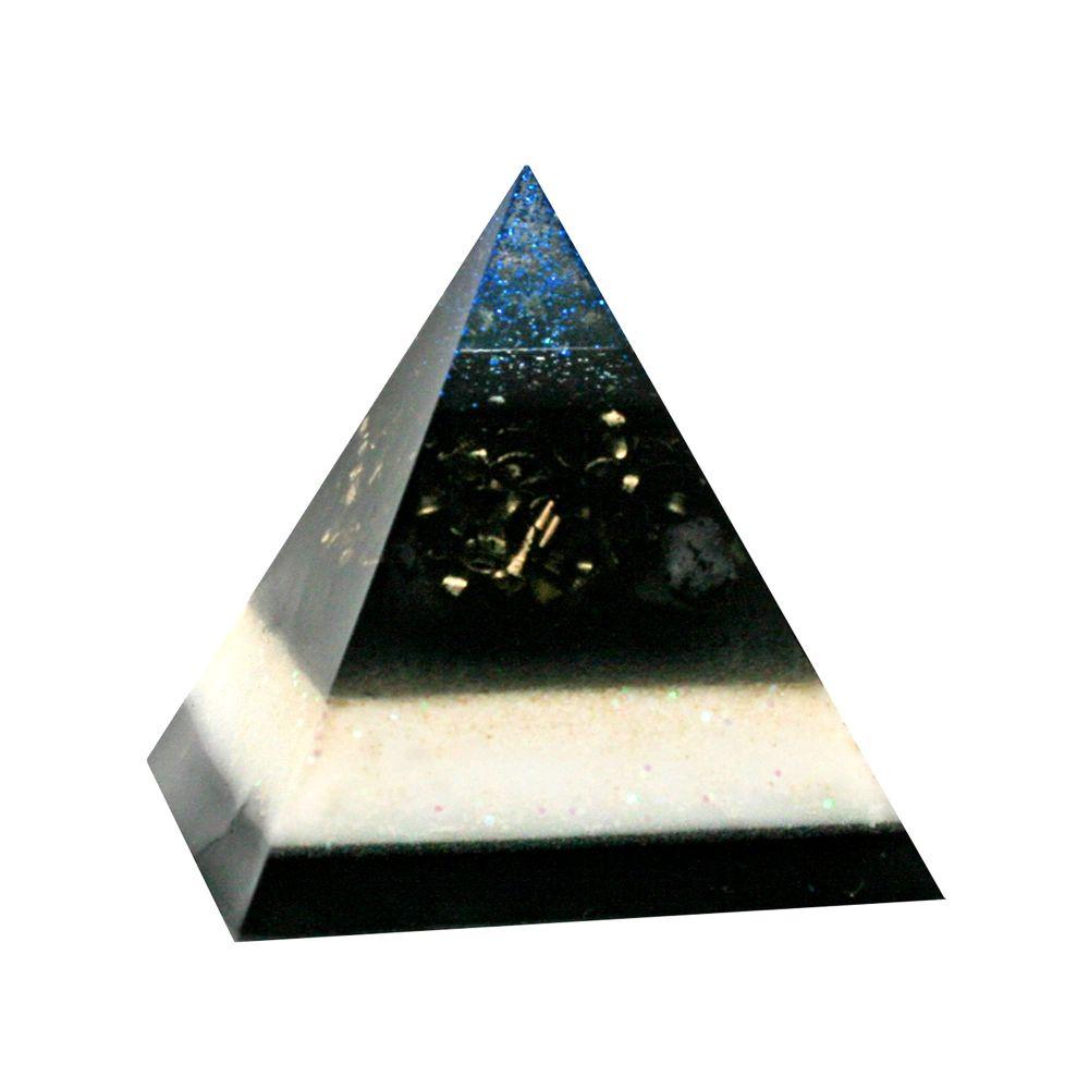 Orgonite Shungite & Magnetite Pyramid