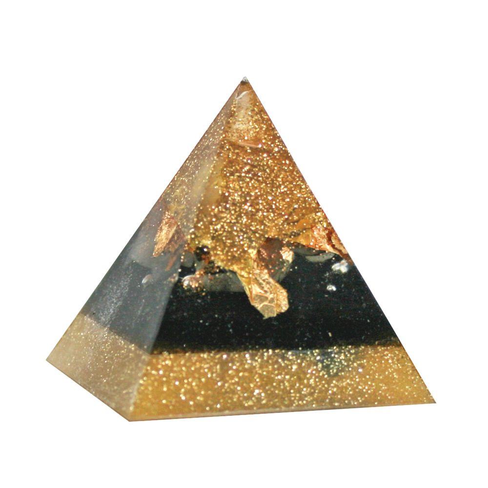Orgonite Golden Alignment Pyramid
