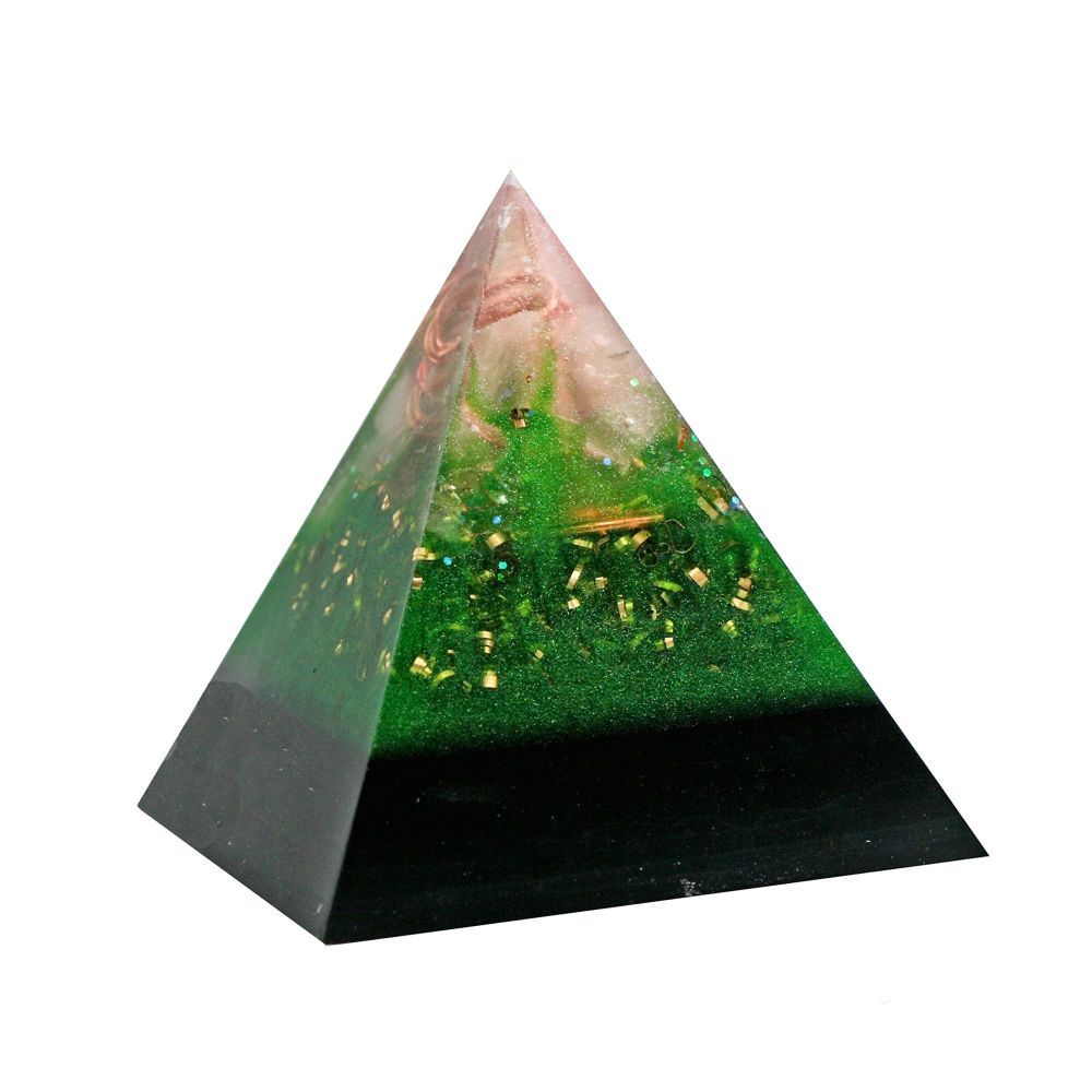 Orgonite Healing Heart Pyramid