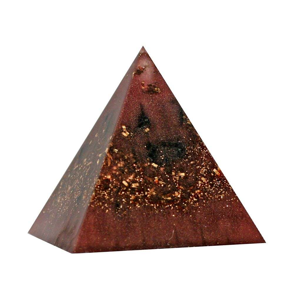 Orgonite Copper Shungite Pyramid