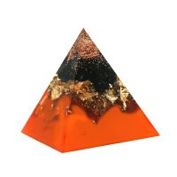 Orgonite Empowering Shungite Pyramid