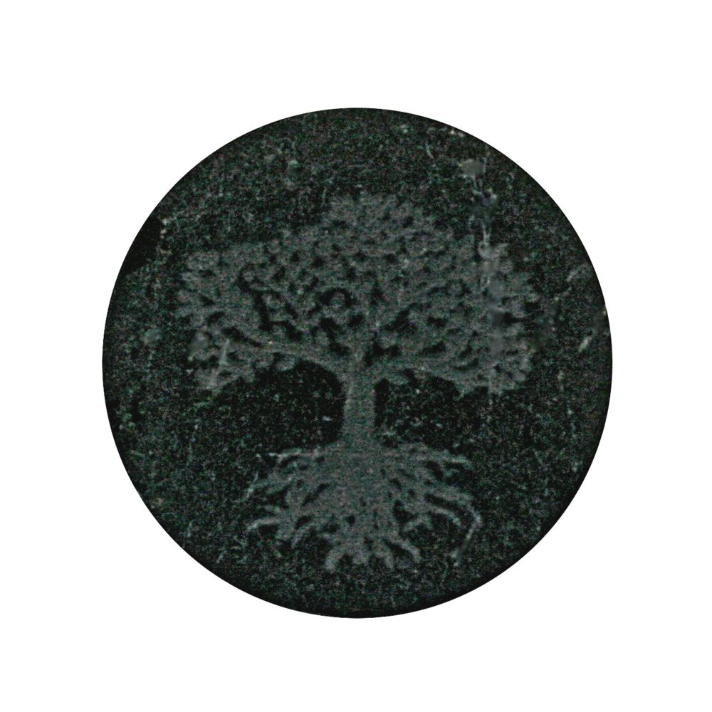 Shungite Tree of Life Phone Protection Plate 3cm