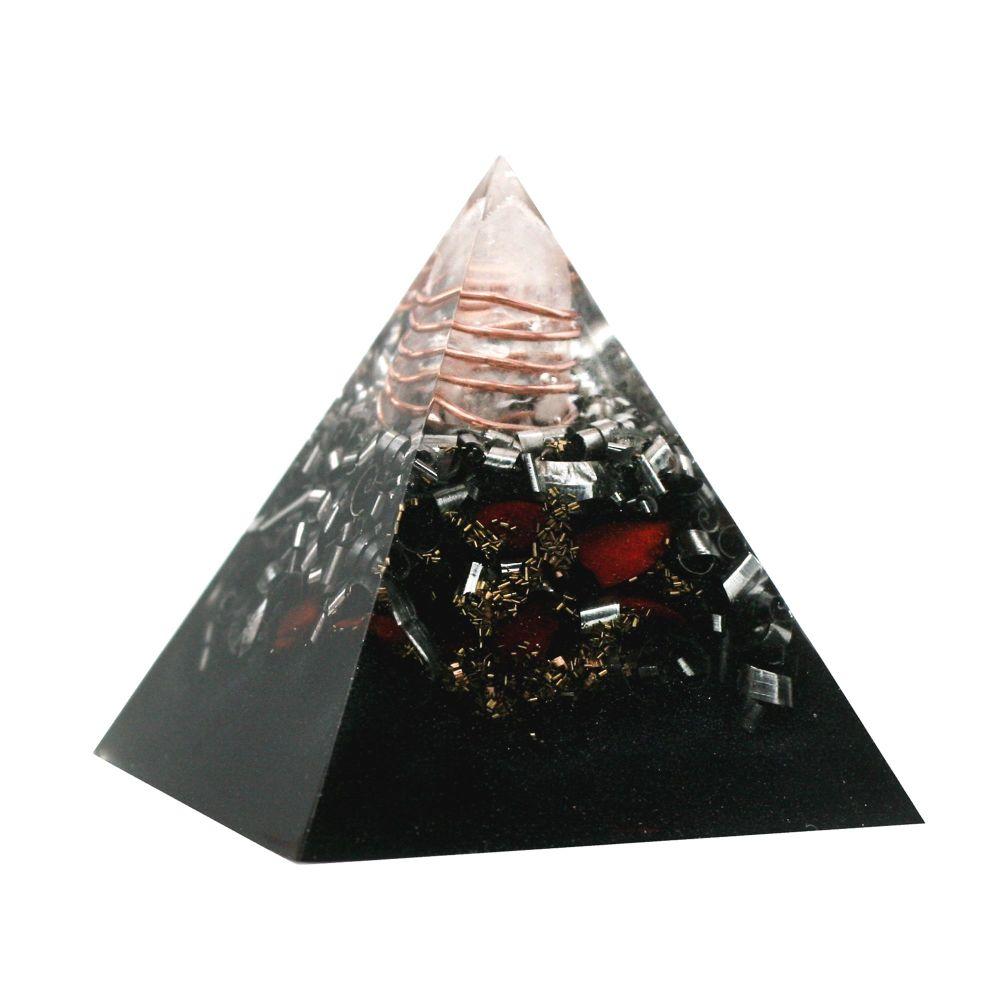 Orgonite Calm & Safe Pyramid