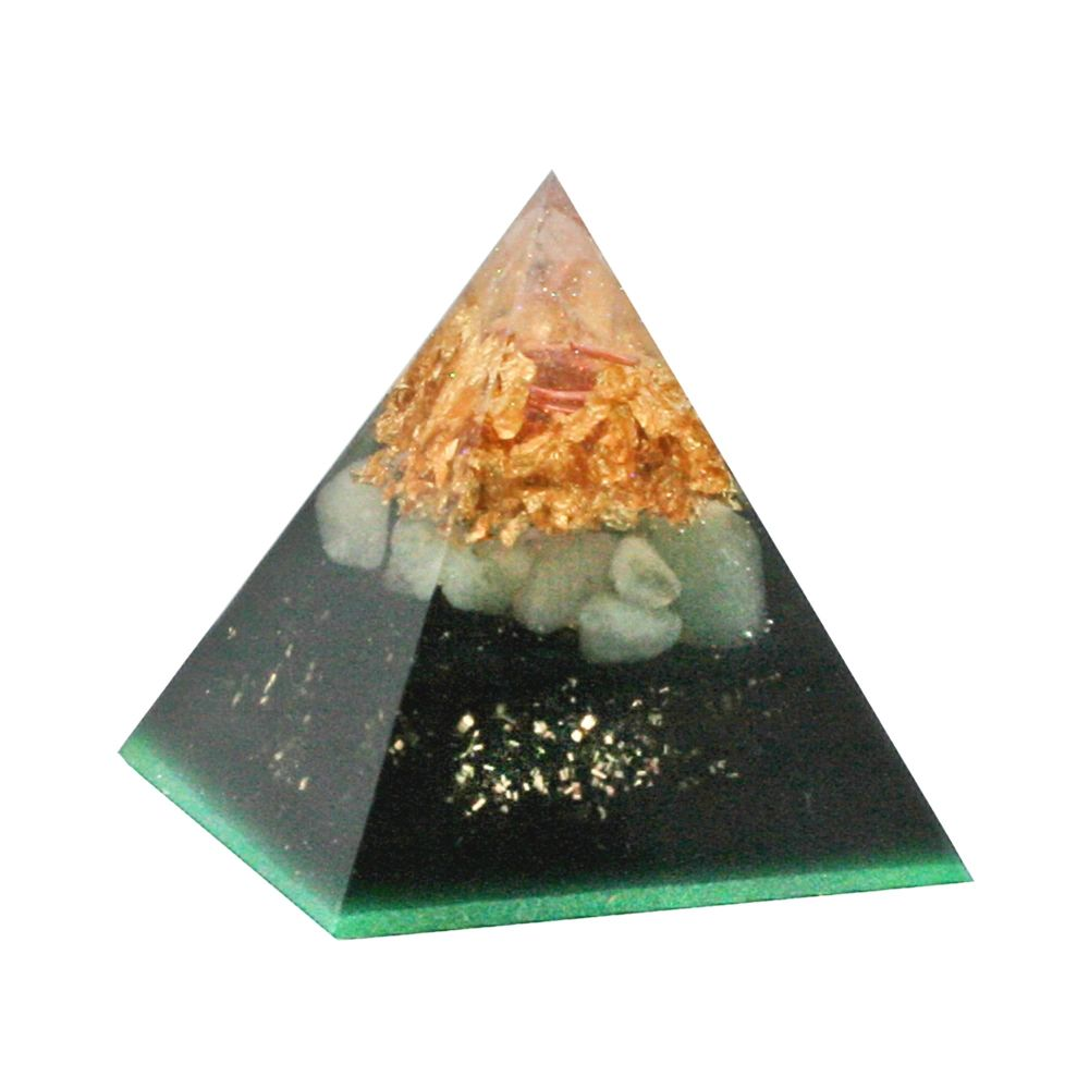 Orgonite Luck & Protection Pyramid