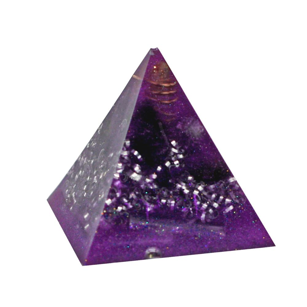 Orgonite Crown Chakra Pyramid