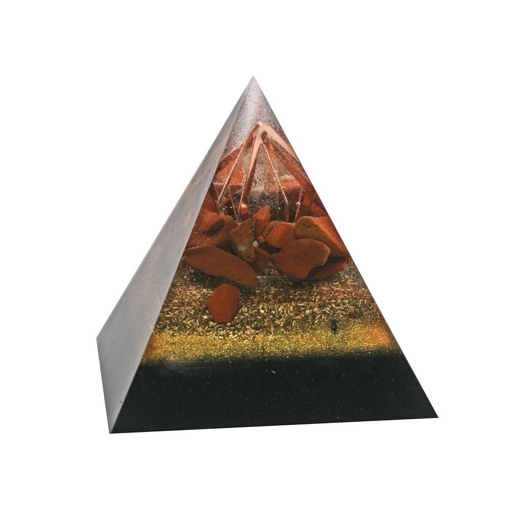 Orgonite I AM Confident Pyramid