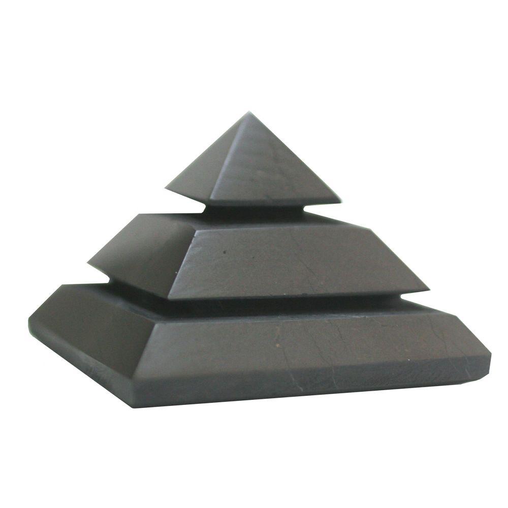 Shungite Carved Pyramid