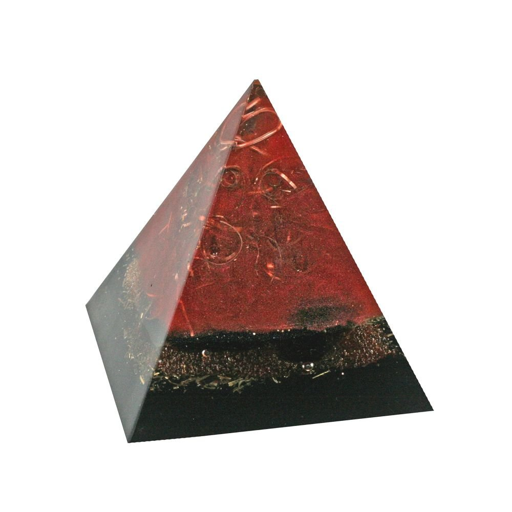 Orgonite Obsidian Grounding Pyramid