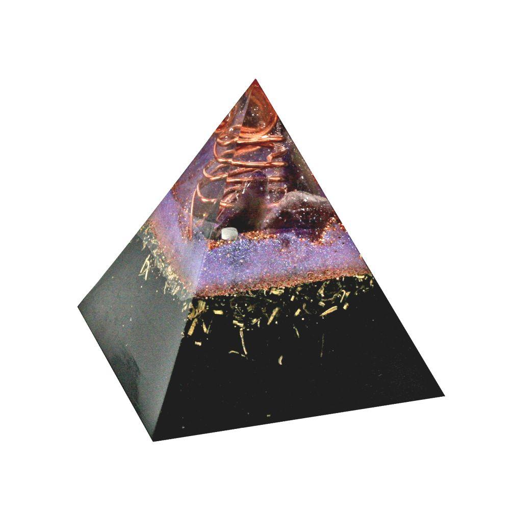 Orgonite Magnetite Abundance Pyramid