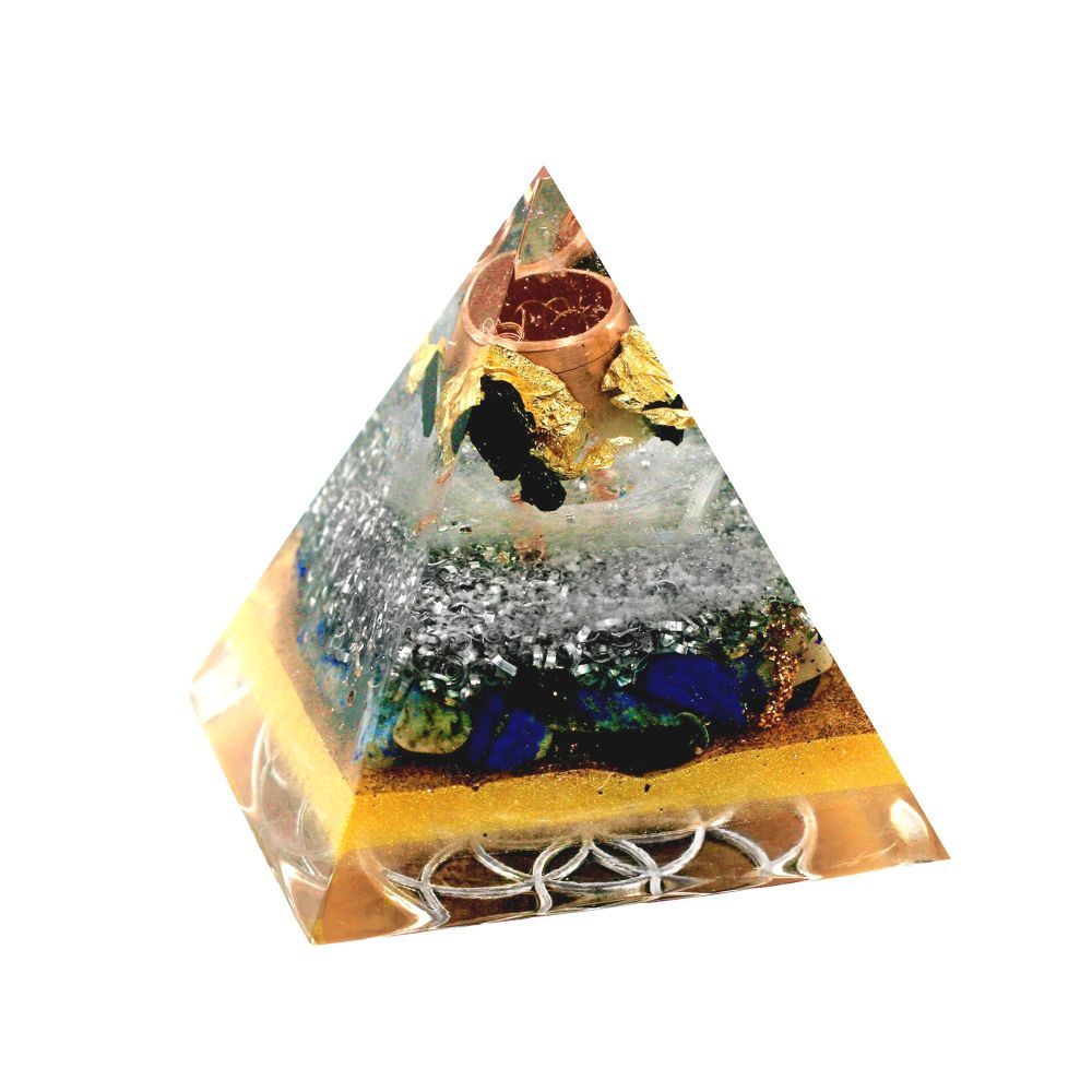 Orgonite Protection & Positivity Pyramid
